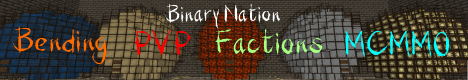 [1.7.2] Binary Nation ~ {Bending}{Factions}