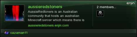 Australian Whitelisted survival server : AussieRedstoners