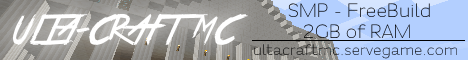 [24/7] [1.8.1] Ulta-Craft MC: The Ultimate Minecraft Server!