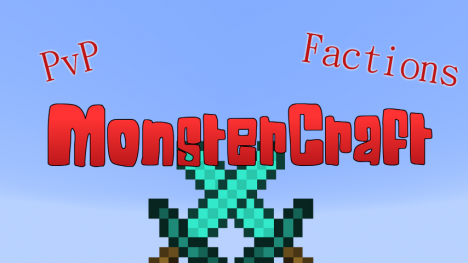 MonsterCraft - PvP Factions - No Hamachi - English - Multilanguage