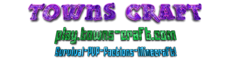 24/7~Towns-Craft ~MCMMO ~Factions~MiniGames~Plotme