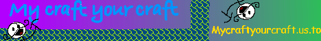 Mycraftyourcraft ★ PvP ★ Factions ★ mcMMO ★ Shop ★ Double XP with Friends ★ NO LAG ★ USA Server ★ 30 Slots ★ Griefing ★ Raiding ★ Stealing ★ Challenging ★ 24/7