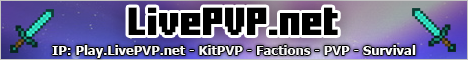 LivePVP.net - Factions - KitPVP - PVP - Survival