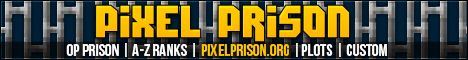 Pixel Prison - Prison - Plots - PVP - MP