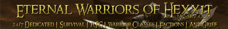 Eternal Warriors of Hexxit - Hexxit | Survival | Factions | Classes | Quests |