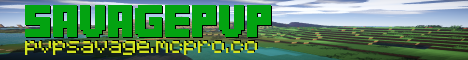 SavagePvP/SavageGames Factions,Particles,PvP And More!