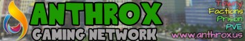 ▓◄Anthrox Gaming►▓  Towny◄►McMMO◄►Economy◄►Jobs