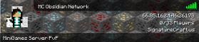 MC Obsidian Network