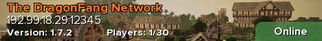 The DragonFang Network [Survival, Clans, Minigames]
