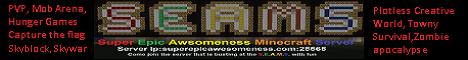 S.E.A.M.S.  - Super Epic Awesomeness Minecraft Server