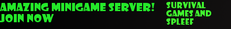 AMAZING MINIGAME SERVER!JOIN NOW! NO LAG!