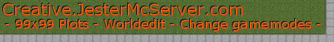 [1.7.10] Jesterface23's Creative Plot Server - 99x99 Plots - Creative.JesterMcServer.com