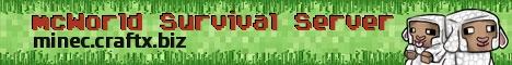 mcWorld Survival Server