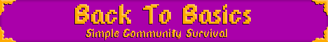 Back To Basics - Community Based Survival - 1.13.2