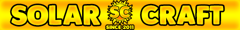 Solarcraft: The Minecraft Universe For You!