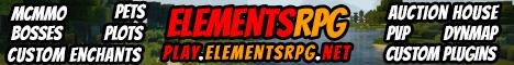 ElementsRPG [1.9.2] RPG level server!