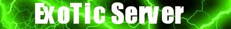 ExoTic Server [Creative, HorseRace, Spleef, Survival]