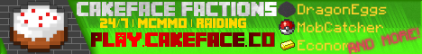 CakeFace Factions [1.9/1.10/1.11]