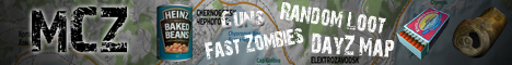 [MCZ] MCZ Chernarus 1.7.9 10+ Vehicles Replica Map Guns Zombies AI Missions SelfBloodbag 24/7 Alpha Stage