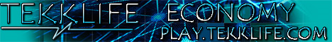 TekkLife - PVE - MCMMO - ECONOMY