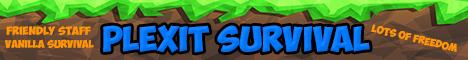 Plexit Survival | Friendly Community | No Lag | 24/7