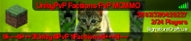 UnityPvP Factions PvP MCMMO
