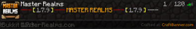 Master Realms Factions!!!