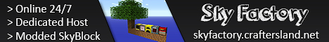 SkyFactory2 by CraftersLand - [Modded SkyBlock | ATLauncher]