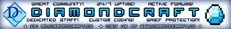 ≥ Diamond Craft ≤ • LAG-FREE • SURVIVAL • 24/7 • DEDICATED • CUSTOM-CODED • GREIF-PROTECTION • GREAT COMMUNITY • AWESOME STAFF •