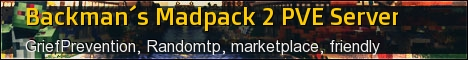 Backman's Madpack 2 PvE Server