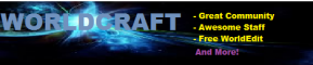 Worldcraft | 1.7 | Creative | Plots | Free World Edit | Pets | Join Now! |