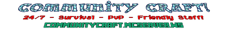 Community Craft!