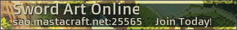 Sword Art Online Minecraft Server 1.7.4