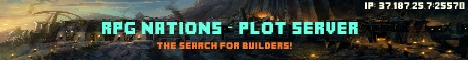 RPG Nations - Plot Server; The Search for Builders!