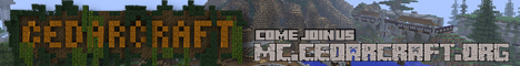 CedarCraft ** 1.12 ** Join the community!