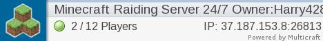 Minecraft Raiding Server 1.8.1