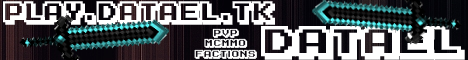 24/7 | Factions | PvP | MCMMO | Datael!