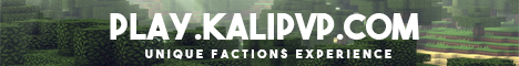 KaliPvP   Factions   Crates   McMMO   PvP   Raiding   Envoys