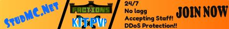 StudMCNetwork| KitPVP | Faction| (NEED STAFF)