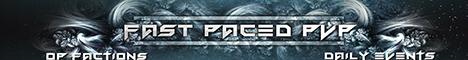 FastPacedPvP OP Factions Server!