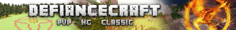 Defiancecraft Classic - THE OLD DAYS - HG + VANILLA PVP