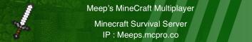 Meeps Minecraft Multiplayer