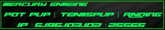 Mercury Gaming - [POTPVP][TEAMSPVP][RAIDING]