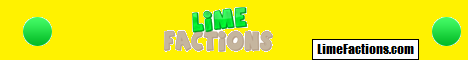 Lime Factions // MCMMO / Crates / Tokens //