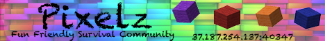 Pixelz Survival Server