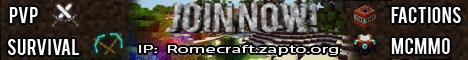 RomeCraft [Towny]