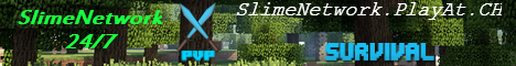 SlimeNetwork -Factions Creative Economy SkyBlock and More! - 24/7!
