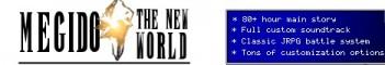 Megido - The New World    Adventure RPG