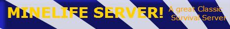 Minelife Survival Server!