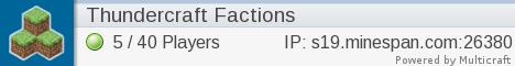 Thundercraft Factions